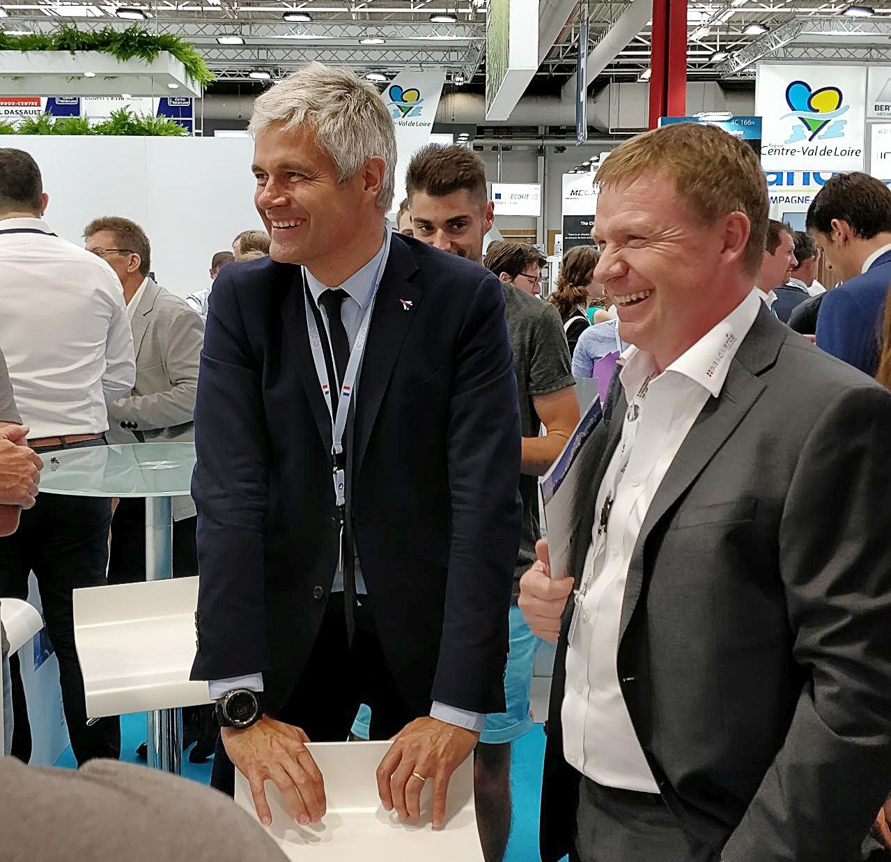 Electrobroche-Concept Bourget 2019 Visite Laurent Wauquiez